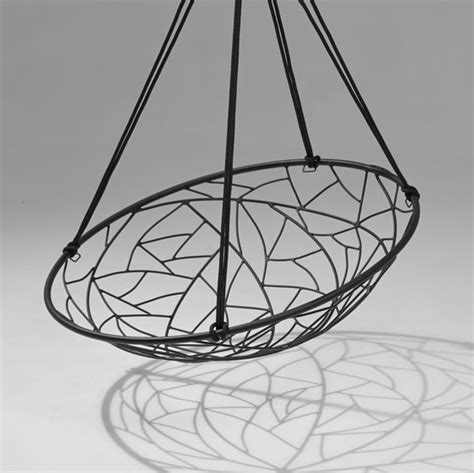 basket swing chair basket twig by studio stirling hanging swing chair product