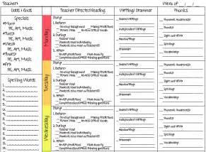 a teacher s plan two new lesson plan templates