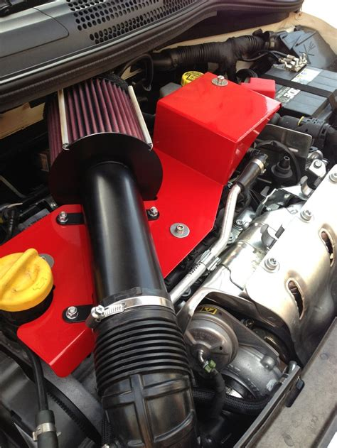 fiat abarth 500 coldair intake amazing cars