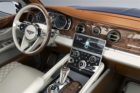 bentley exp 9 f interior bentley suv officially approved for production autotribute
