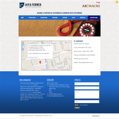 design web indonesia jaya fermex indonesia web design agency indonesia web