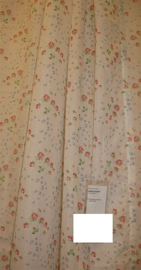 drapes english ikea emmie knopp floral curtains drapes semi sheer english