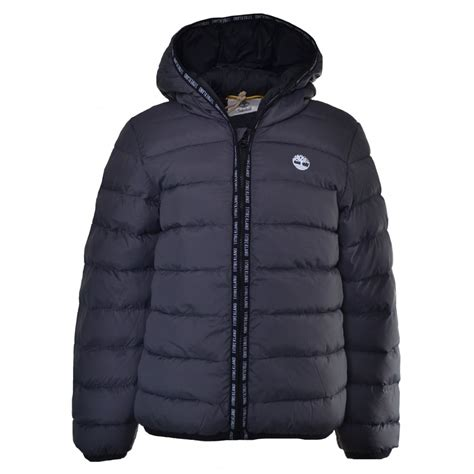 Gp Puffer Jacket Jacket Branded timberland grey hooded puffer jacket