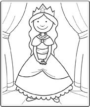 simple princess coloring page printables princesses and coloring pages on pinterest