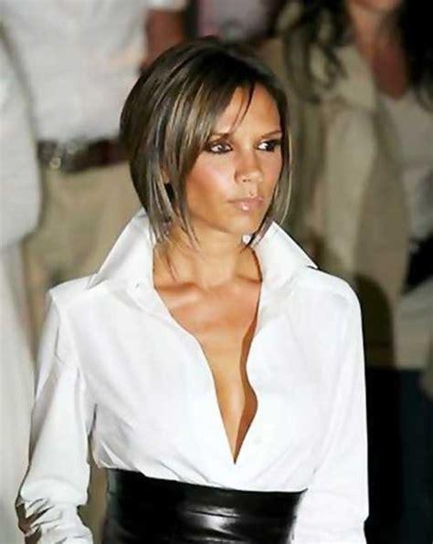 victoria beckham short brown hair victoria beckham s hair some of her best styles over the