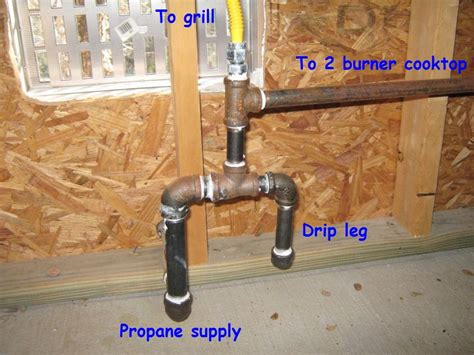 propane drip leg internachi inspection forum