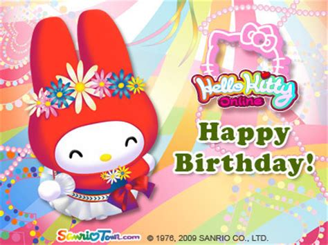 My Melody Birthday Card My Melody Birthday E Card My Melody Photo 6973666 Fanpop