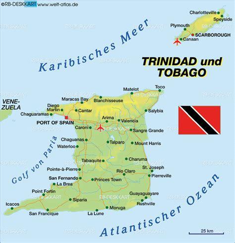 5 themes of geography trinidad and tobago trinidad und tobago kapital karte