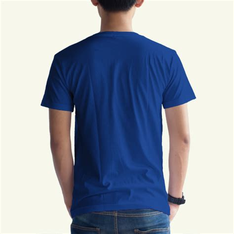 Kaos Polos Biru Benhur Size 2xl kaos polos biru benhur v neck konveksi grosir distributor produsen kaos murah bandung