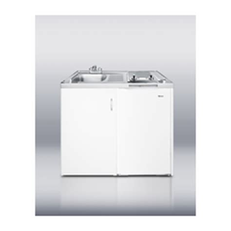 kitchen sink and cabinet combo all you has shall be it summit c48el all in one kitchen 48 inches cool running