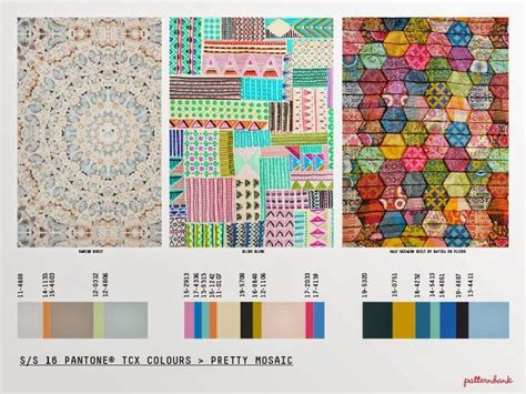 mosaic pattern trend s s 16 pattern trends ss 2016 pinterest fashion