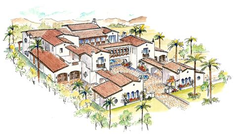 spanish style house plans with courtyard pics for gt spanish style house plans with interior courtyard