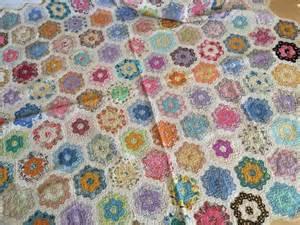 Grandmother S Flower Garden Quilt Kitchen Dining