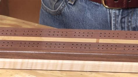 cribbage board plans wwgoa woodworking project