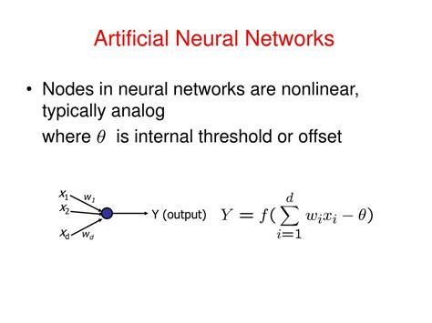pattern classification in artificial neural network ppt pattern recognition vidya manian dept of electrical