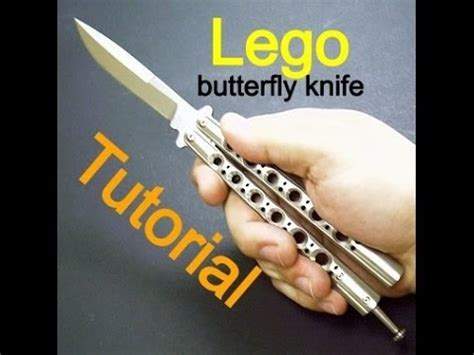 lego knife tutorial tutorial lego butterfly knife youtube