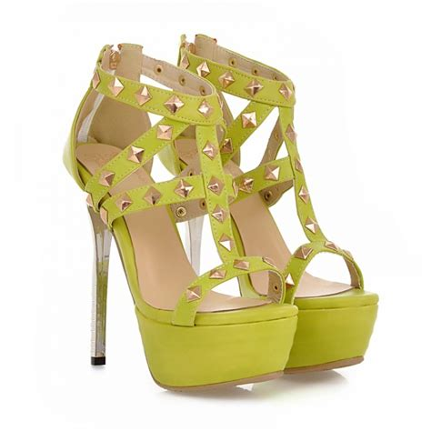 Fashion Sandal Batik Ossin 01 Original Product By Fana rivet embellished high heel fashion sandals in green on luulla