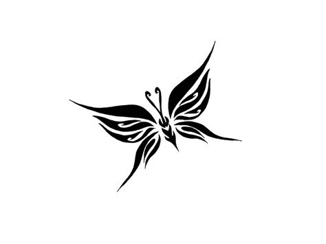small tribal butterfly tattoos collection of 25 small tribal butterfly