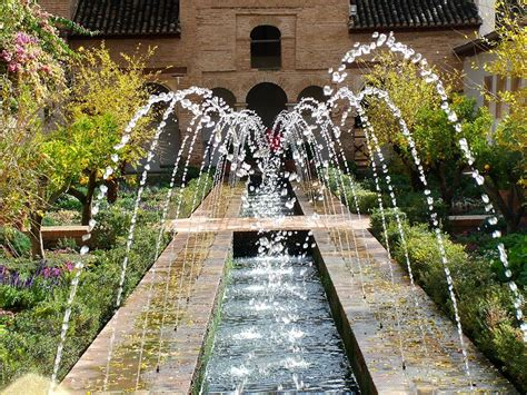 Spain Gardens by Alhambra Generalife
