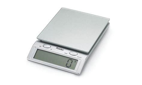 Polder Glass Top Digital Kitchen Scale 11 Pound Polder Digital Kitchen Scale