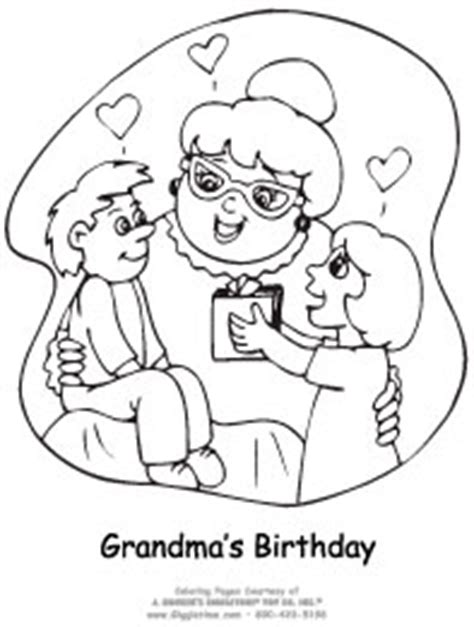birthday coloring pages for nana birthday general giggletimetoys com