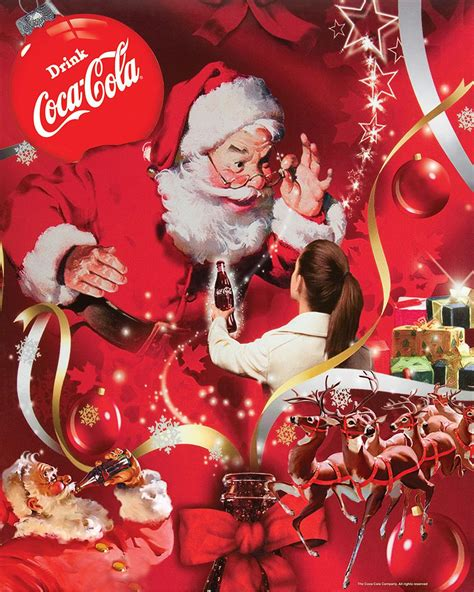 imagenes santa claus coca cola your wish coca cola jigsaw puzzle puzzlewarehouse com