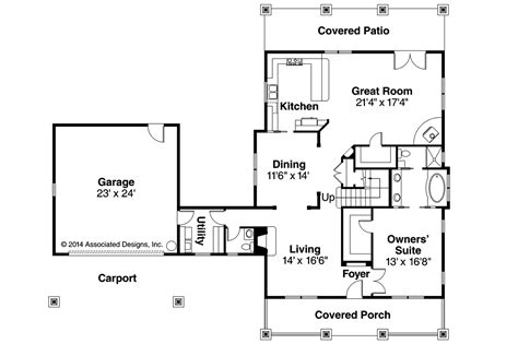 bungalow floor plan with elevation bungalow house plans wisteria 30 655 associated designs