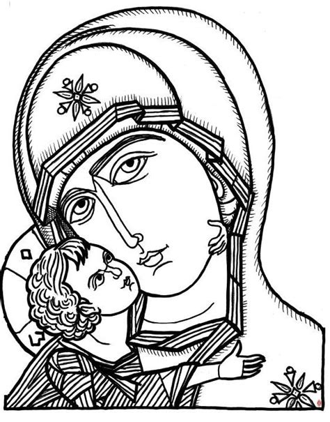 nativity icon coloring page free coloring pages of orthodox christian