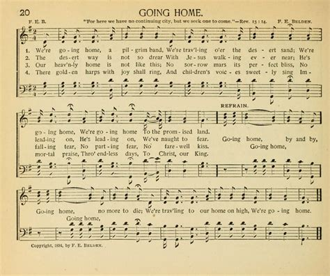 the gospel song sheaf for sunday schools and