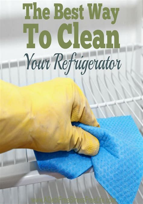 Best Way To Clean by The Best Way To Clean Your Refrigerator Cleaning Car