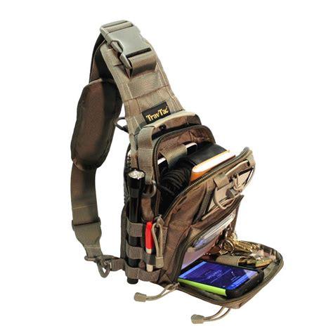 Premium Sling Bag For travtac stage ii sling bag premium small edc tactical
