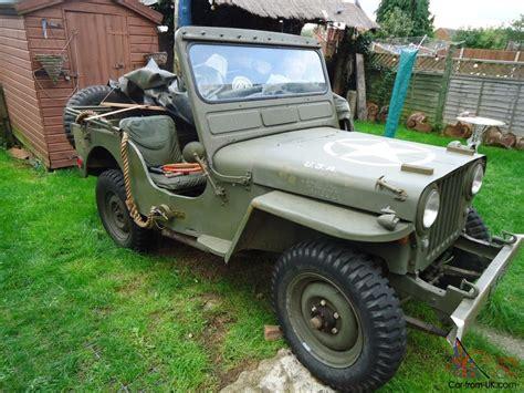 1949 Willys Jeep Willys Jeep Ex Swiss Army 1949