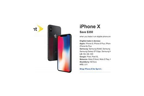 any deals on iphone x