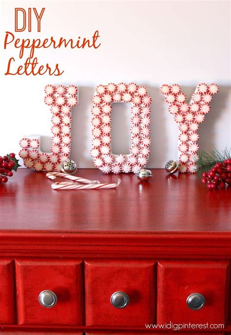 17 best images about peppermint christmas decor on