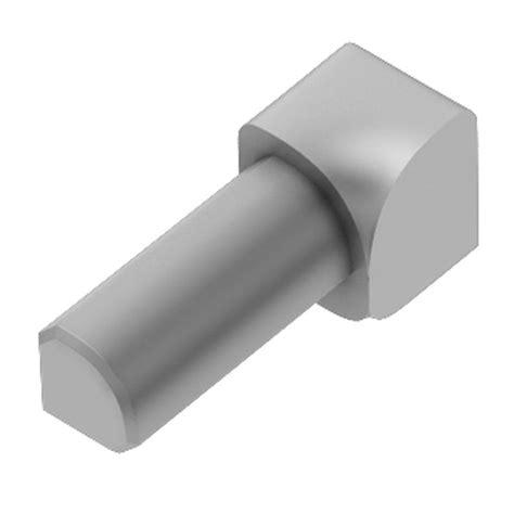 schluter rondec satin anodized aluminum