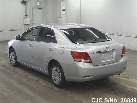 Toyota Allion 2012 Fuel Consumption 2012 Toyota Allion Silver For Sale Stock No 36849