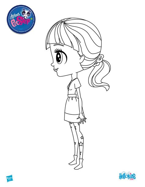 lps blythe coloring pages blythe baxter side view coloring pages hellokids com