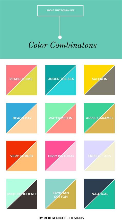 2 Color Combinations | 12 color combinations logos business and color combos