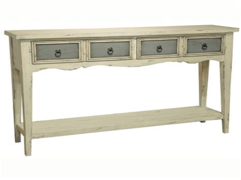 Accent Console Table Vintage Console Table With Drawers
