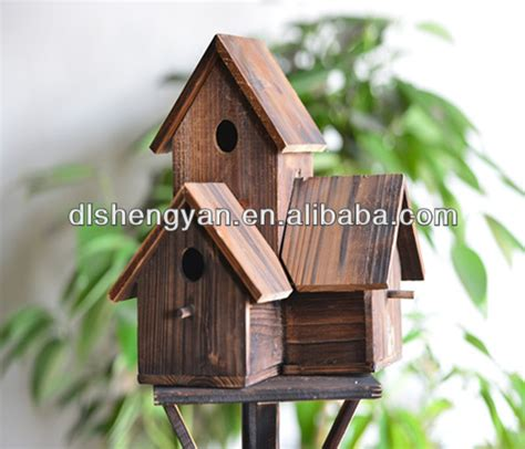 wooden scow for sale cheap eco friendly wooden wholesale diy bird houses for