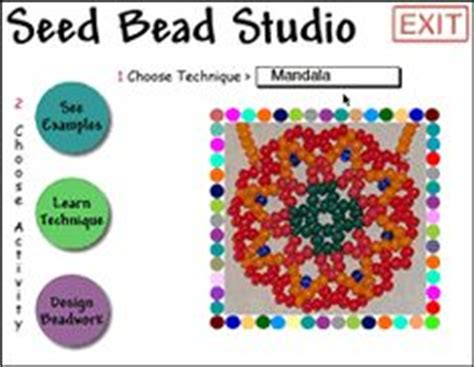 seed bead pattern software bead tutorials patterns schemas on seed bead