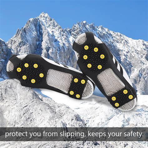 cadenas para zapatos para nieve exterior crones antiskid de zapatos nieve hielo cadena