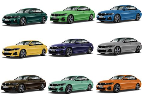 check   awesome individual paint colors   bmw