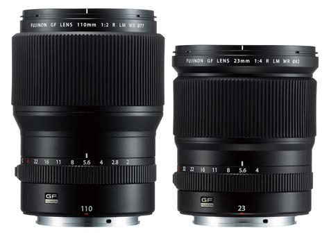 Lensa Fujifilm Gf 23mm F4 R Lm Wr Fujinon Lens Gf 23mm F 4 R Lm Wr fuji releases gf 110mm f 2 r lm wr and gf 23mm f 4 r lm wr lenses daily news