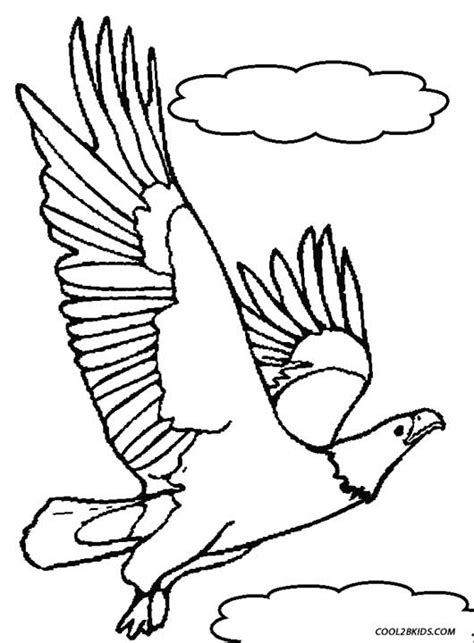 eagle wings coloring page printable eagle coloring pages for kids cool2bkids
