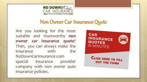 home insurance non owner car insurance best quotes auto non owner car insurance quote cool non owners insurance