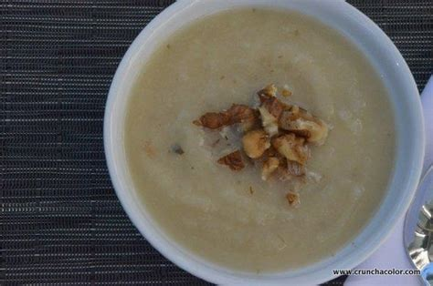 savory apple soup crunch a color