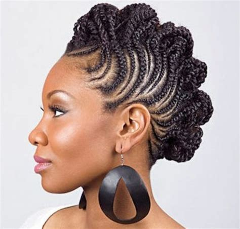 Mohawk Braid Hairstyle For Black by Mohawk Braids 12 Braided Mohawk Hairstyles That Get Attention