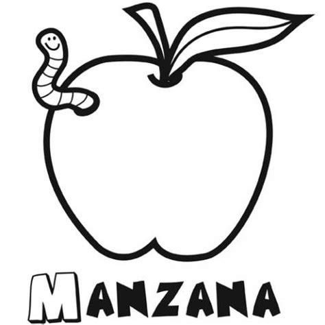 imagenes blanco y negro de frutas dibujo manzana para colorear im 225 genes gratis de frutas
