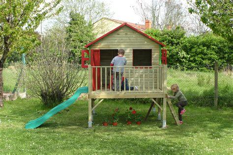 maison jardin pour enfant